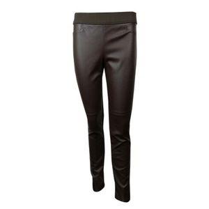 Lauren Ralph Lauren Faux Leather Legging Pants